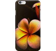PLUMERIA (common name Frangipani) iPhone Case/Skin