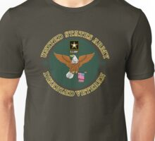 US Army Disabled Veteran Shield Unisex T-Shirt