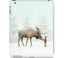 Boy and Moose iPad Case/Skin