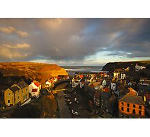 Staithes, North Yorkshire Moors Photographic Print