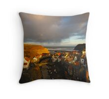 Staithes, North Yorkshire Moors Throw Pillow