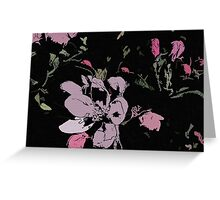 Apple Blossom Ink Greeting Card