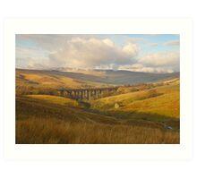 Dent Head Viaduct, Dentdale, Yorkshire Dales Art Print
