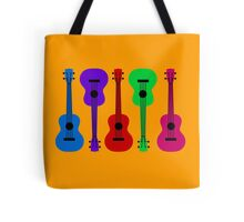 Ukulele - colours Tote Bag