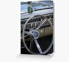 Driver's Seat Greeting Card