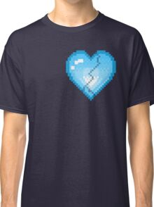 Mystery Skulls 'Ghost' - Broken Heart Classic T-Shirt