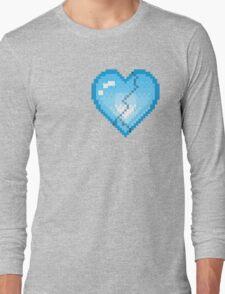 Mystery Skulls 'Ghost' - Broken Heart Long Sleeve T-Shirt