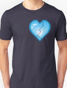Mystery Skulls 'Ghost' - Broken Heart Unisex T-Shirt