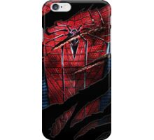 Spider Ripped Man Chest iPhone Case/Skin