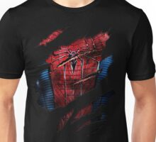 Spider Ripped Man Chest Unisex T-Shirt