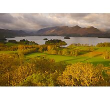 Derwent Water from Castlehead, Keswick, Lake District, Photographic Print