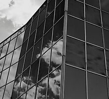 Dark Reflections,Glass Palace,BW,Sassuolo,Italy by Davide Ferrari