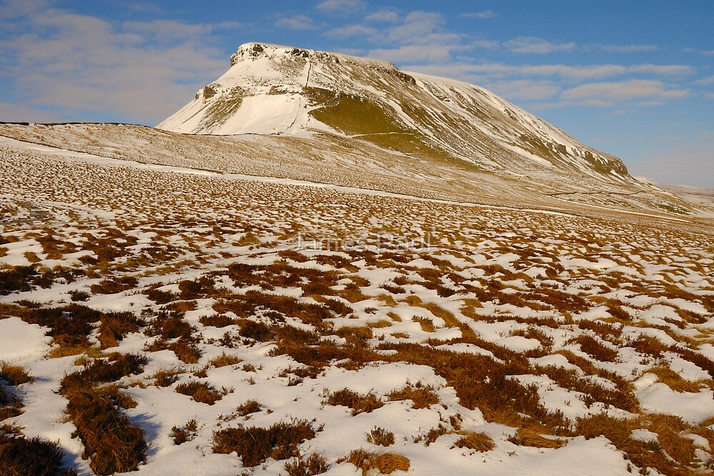 Pen-y-Ghent, Horton-in-Ribblesdale, Ribblesdale, Yorkshire Dales by James Paul