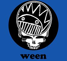 Ween Boognish / Grateful Dead Steal Your Face  by Cornbread Red