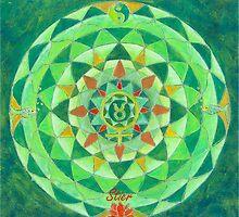 Stier Horoskop Mandala Produkte by Renate van Nijen