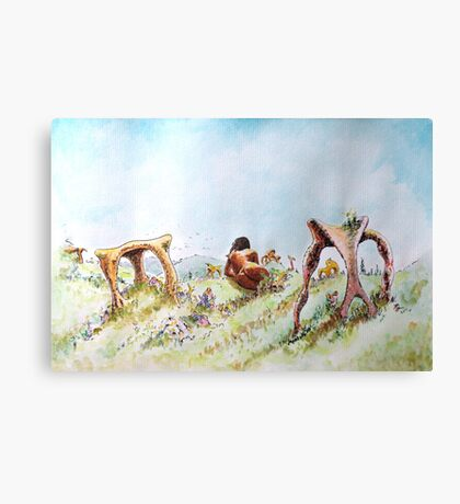 The Fields of Artemis Canvas Print