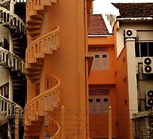Spiral Stairs by ZaQQy J