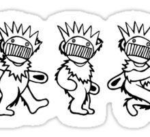 Ween Boognish / Grateful Dead Dancing Bears Sticker