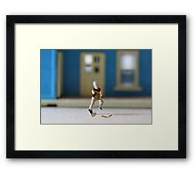 Except for one defining moment, BP had a completely normal childhood. Framed Print