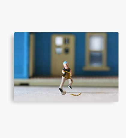 Except for one defining moment, BP had a completely normal childhood. Canvas Print