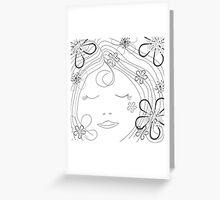 *flower power* Greeting Card