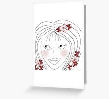 *blush* Greeting Card