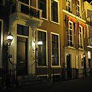 The Hague at night by Hans Bax
