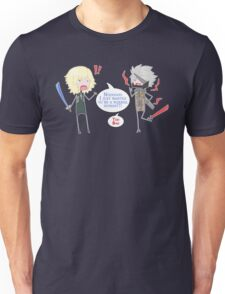 About Ninja Vampire Cyborgs.... Unisex T-Shirt