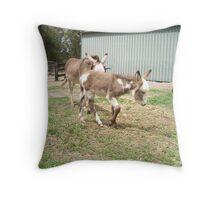 Mother & Foal Throw Pillow