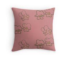 Primrose Pink Cutout Throw Pillow