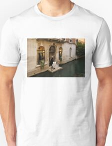 Shopping for a Black Dress in Venice, Italy T-Shirt