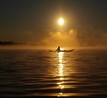 Kayak in the Mist ~ II by Debby1