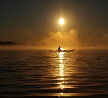 Kayak in the Mist ~ II by Debby1