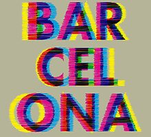 Barcelona Glitch Psychedelic Coolest City in Europe by sundressed