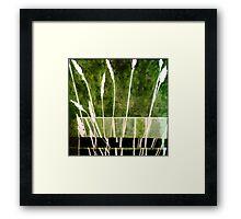 Green Monotype 1 - Printmaking Framed Print