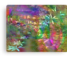 Colors & Flowers. Canvas Print