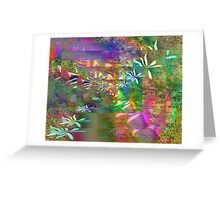 Colors & Flowers. Greeting Card