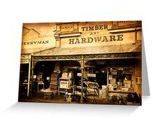Hardware Store - Maldon Greeting Card