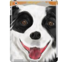 My Buddy ~ Beautiful Border Collie, Frinedly Dog iPad Case/Skin
