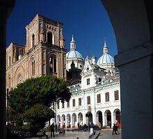 Cuenca Cathedral by Bernai Velarde
