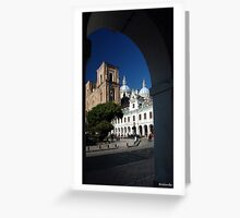Cuenca Cathedral Greeting Card