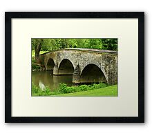 Burnside Bridge Framed Print