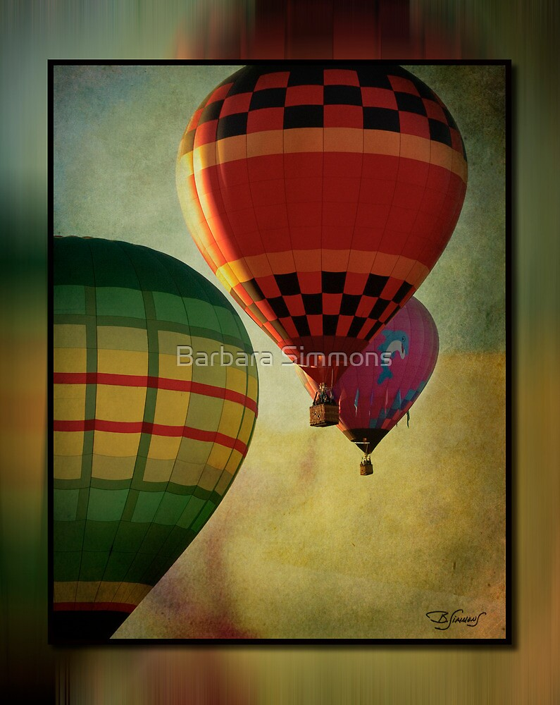 Up Up and Away by Barbara Simmons