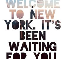 Welcome To New York- Taylor Swift by 5Mins2Midnight