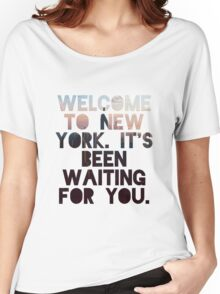 Welcome To New York- Taylor Swift Women's Relaxed Fit T-Shirt