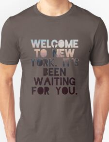 Welcome To New York- Taylor Swift T-Shirt
