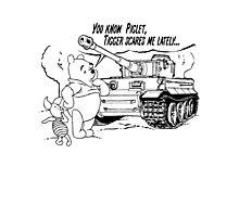 Winnie the pooh - Tigger tank Photographic Print