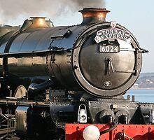 Steam Train King Edward No 6024 by Tony Steel
