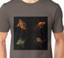 Dead bird pattern with beautiful photographs Unisex T-Shirt