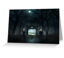 PORTAL OF DAY Greeting Card